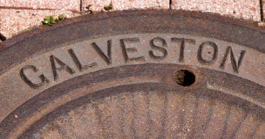 City of Galveston Man Hole Cover