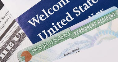 Immigration Welcome Letter, Green Card