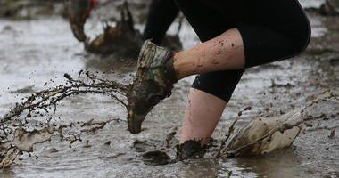 Running in mud