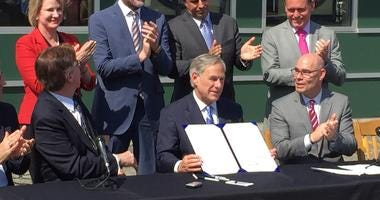 Texas Governor Greg Abbott Signs Tax Reform Into Law