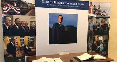 Bush Library Memorial
