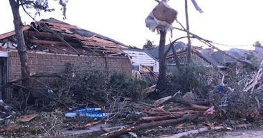 Richardson Tornado Damage