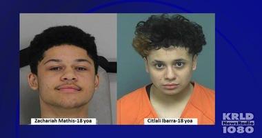 Mesquite Shooting Suspects: Zachariah Mathis, Citlali Ibarra