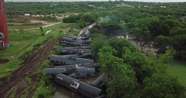 Fort Worth Train Derailment