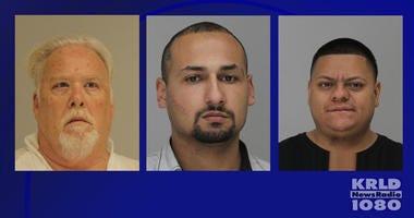 Street Racing Suspects Ricky Jackson, Hector Camarena, Diego Gaytan