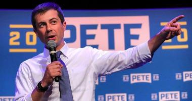 Democratic presidential candidate Pete Buttigieg