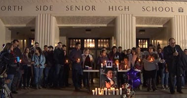 Vigil for teen killed by drunk driver