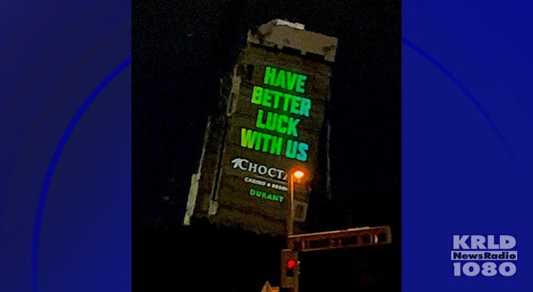 Leaning Tower Advertisement