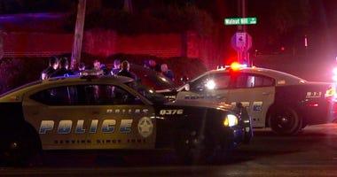 Dallas Police, Fatal Car Crash