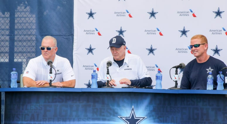 2018 Dallas Cowboys Training Camp Opening Press Conference