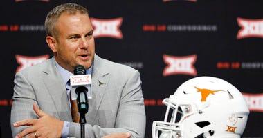 Texas head coach Tom Herman