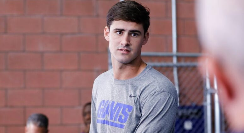 New York Giants' Daniel Jones