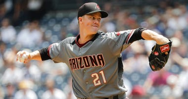 Arizona Diamondbacks' Zack Greinke