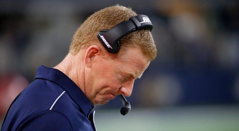 Cowboys Head Coach Jason Garrett