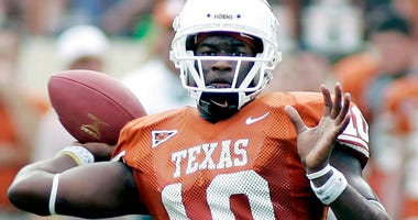 Texas quarterback Vince Young