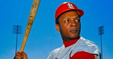 St. Louis Cardinals outfielder Curt Flood