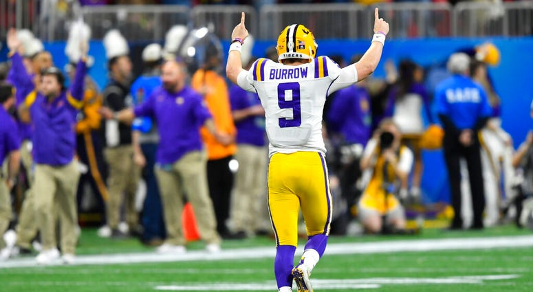 LSU quarterback Joe Burrow
