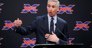 XFL Commissioner Oliver Luck