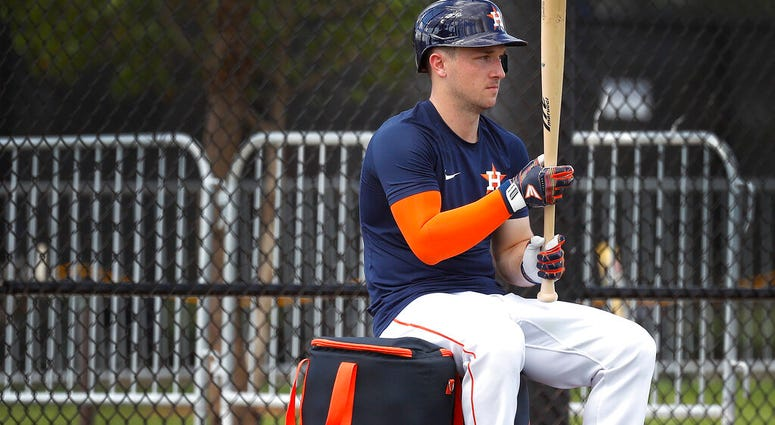 Houston Astros infielder Alex Bregman