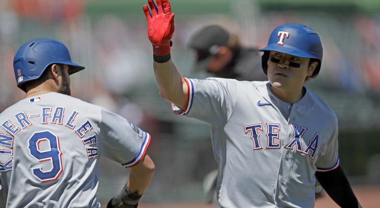Texas Rangers vs San Francisco Giants