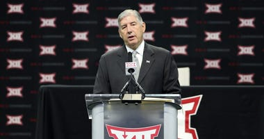 Big 12 commissioner Bob Bowlsby