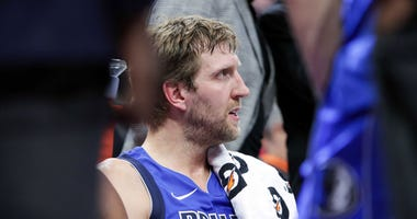 Dallas Mavericks center Dirk Nowitzki