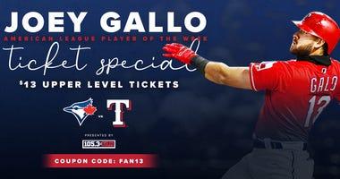Joey Gallo Ticket Special
