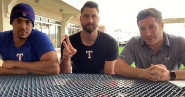 Joey Gallo and Ronald Guzman