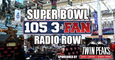 Super Bowl 2019 Radio Row