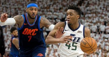 Oklahoma City Thunder at Utah Jazz