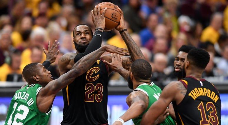 Boston Celtics at Cleveland Cavaliers