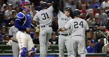 Yankees at Texas Rangers