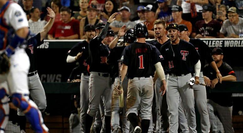 College World Series-Florida vs Texas Tech