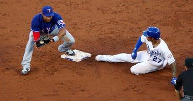 Texas Rangers at Kansas City Royals