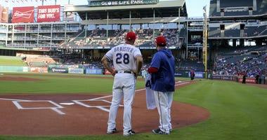 San Diego Padres at Texas Rangers