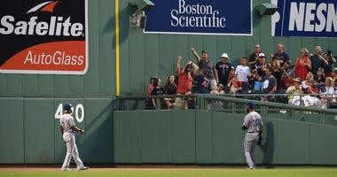 Texas Rangers at Boston Red Sox