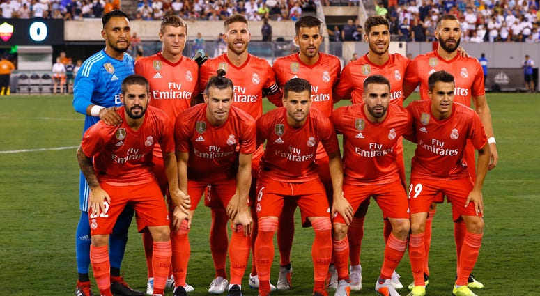 International Champions Cup-Real Madrid