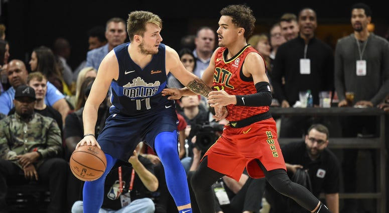 Luka Doncic and Trae Young