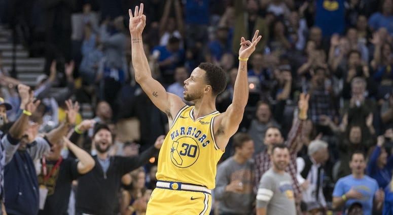 Golden State Warriors guard Stephen Curry