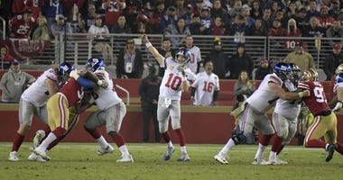 New York Giants at San Francisco 49ers