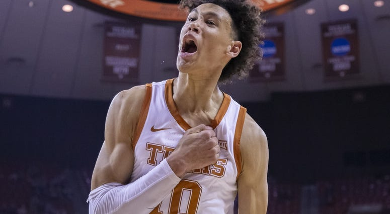 Texas Longhorns forward Jaxson Hayes