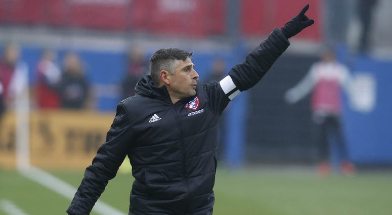 FC Dallas head coach Luchi Gonzalez