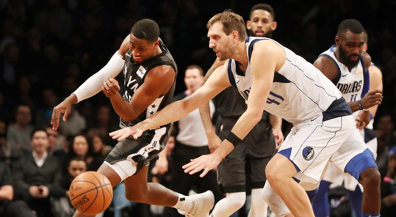 Dallas Mavericks at Brooklyn Nets