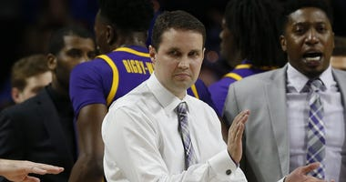 LSU Tigers head coach Will Wade