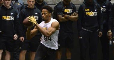 NCAA Football: Missouri Pro Day - File Photo