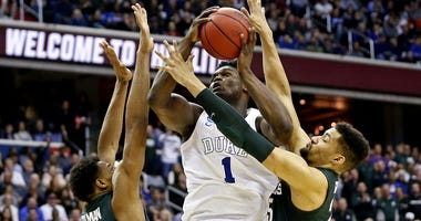 NCAA Tournament-East Regional-Michigan State vs Duke