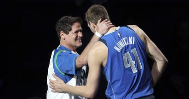 Mark Cuban & Dirk Nowitzki