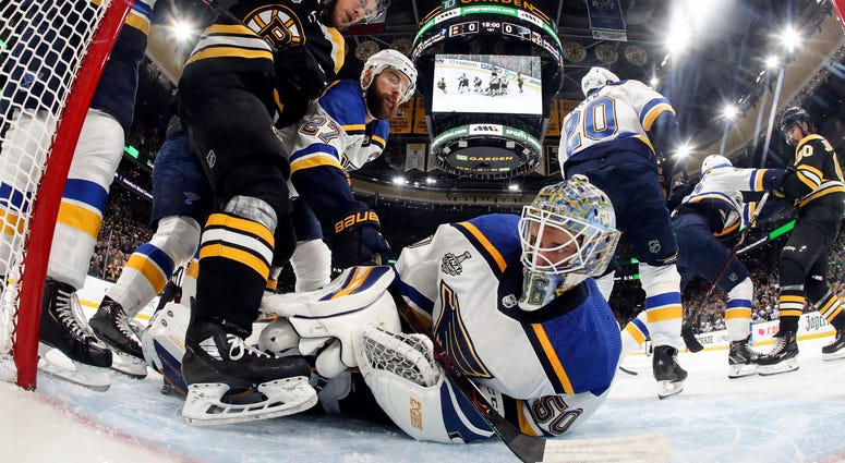 St. Louis Blues at Boston Bruins