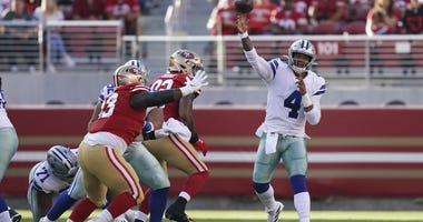 Dallas Cowboys at San Francisco 49ers