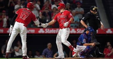 Texas Rangers at Los Angeles Angels